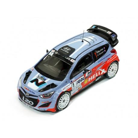 Hyundai I20 1 Rallye d'Antibes 2014 Bouffier Panseri IXO RAM586