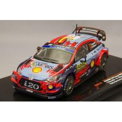 Hyundai i20 WRC 11 Rallye d'Allemagne 2019 Neuville Gilsoul IXO RAM729