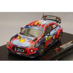 Hyundai i20 WRC 11 Winner Rallye de Catalogne 2019 Neuville Gilsoul IXO RAM732