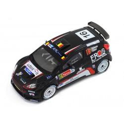 Ford Fiesta R5 16 Rallye d'Ypres 2014 Cherain Leyh Whitebox WBR014
