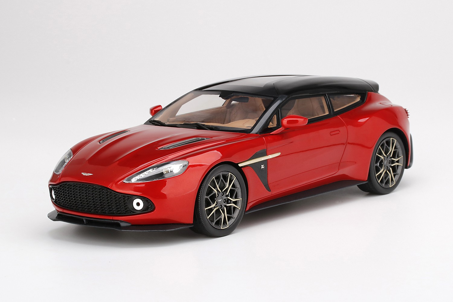 Aston Martin Vanquish Zagato Shooting Brake Lava Red Truescale Ts0218 Miniatures Minichamps