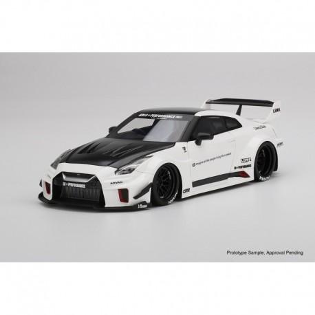 Nissan GTR 35GT-RR LB Works White Truescale TS0298