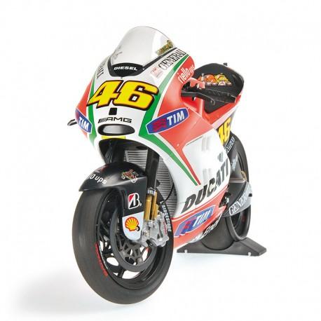 Ducati Desmosedici GP12 Moto GP 2012 Valentino Rossi Minichamps 122120046