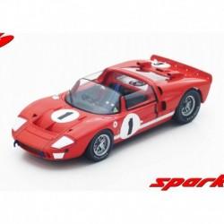 Ford GT-X1 1 12 Heures de Sebring 1966 Winner Spark 18SE66