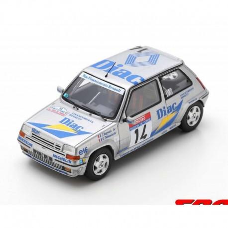 Renault 5 GT Turbo 14 Rallye de France Tour de Corse 1990 Ragnotti Thimonier Spark S5556