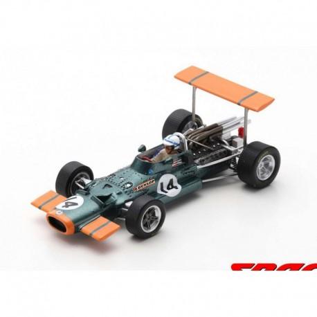 BRM P138 14 F1 Grand Prix d'Espagne 1969 John Surtees Spark S5705