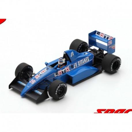 Ligier JS31 26 F1 Essais du Grand Prix d'Italie 1988 Stefan Johansson Spark S7412