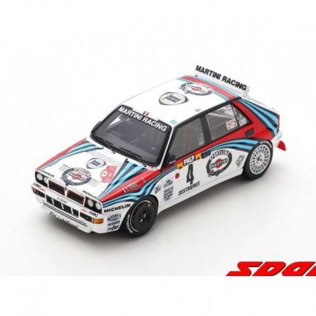 Lancia Delta HF Integrale 4 Rallye Monte Carlo 1992 Winner Didier Auriol Bernard Occelli Spark S9015