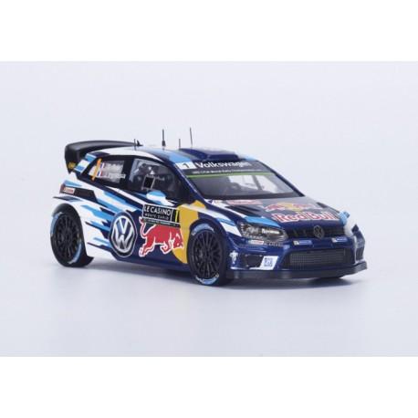 Volkswagen Polo R WRC 1 Rallye Monte Carlo 2016 Ogier Ingrassia Spark S4960