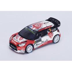 Citroen DS3 WRC 8 Rallye Monte Carlo 2016 Lefebvre Moreau Spark S4963