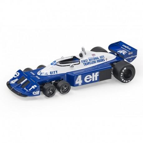 Tyrrell P34 4 F1 1977 Patrick Depailler GP Replicas GP029B