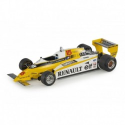 Renault RE20 Turbo 15 F1 1980 Jean Pierre Jabouille GP Replicas GP053B