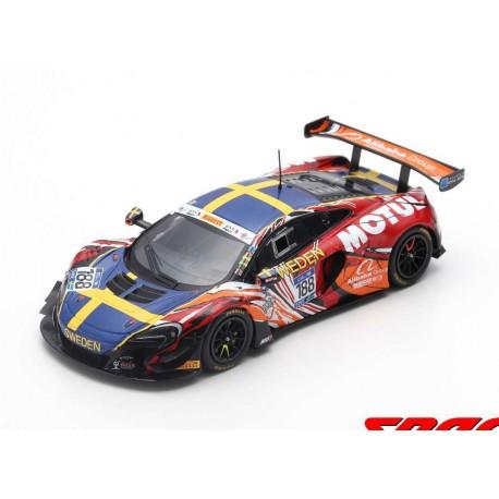 McLaren 650S GT3 Team Sweden 188 FIA GT Nations Cup Bahrain 2018 Spark S6307