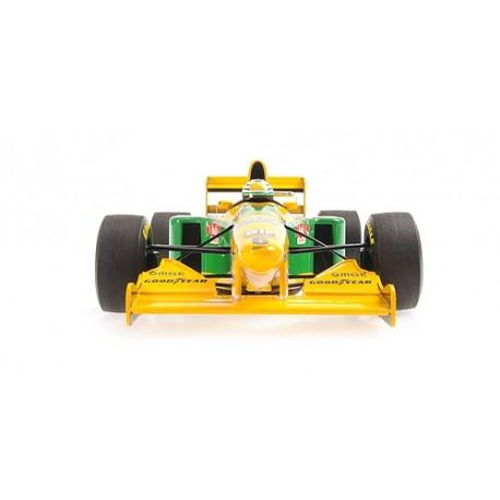 Benetton Ford B193 F1 3ème Angleterre 1993 Ricardo Patrese Minichamps 110930906