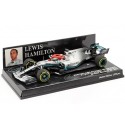 Mercedes F1 W10 EQ Power+ F1 Monaco 2019 Lewis Hamilton Minichamps 417190644