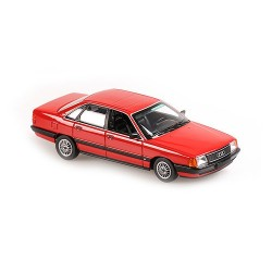Audi 100 1990 Red Metallic Minichamps 940015200