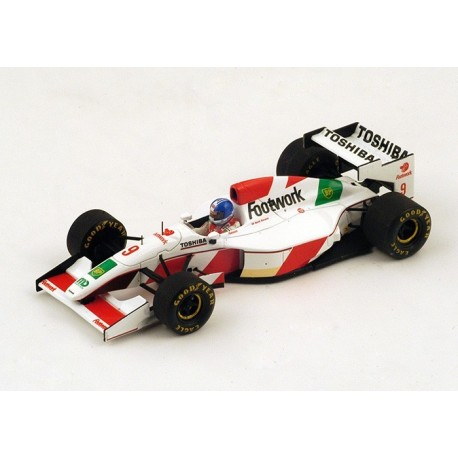 Footwork Arrows FA14 F1 1993 Derek Warwick Spark S3909