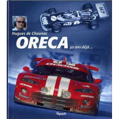 Book Oreca 30 ans déjà
