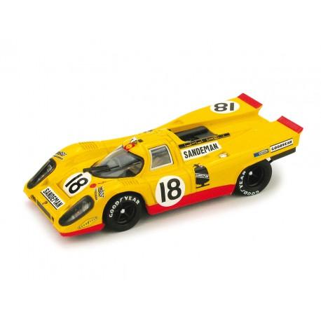 Porsche 917K 18 50e Racing Anniversary 24 Heures du Mans 1970 Brumm R254
