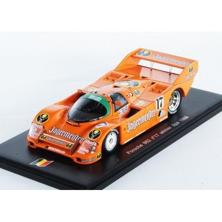 Porsche 962C 17 1000 km de Spa 1986 Boutsen / Jelinski Spark SB007
