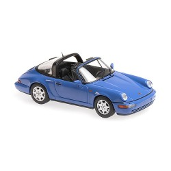 Porsche 911 Targa 964 1991 Blue Minichamps 940061360