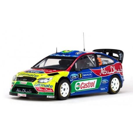 Ford Focus RS 3 WRC Finlande 2009 Hirvonen/Lehtinen Sunstar SS3945