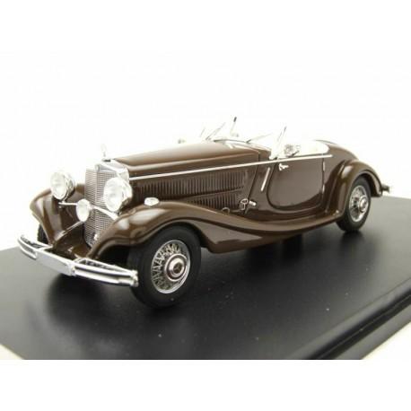 Mercedes 290 Roadster W18 1937 Dark Brown NEO NEO45013