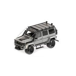 Brabus 550 Adventure 4x4 based on G500 2017 Light Grey Minichamps 437037161