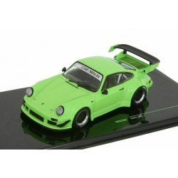 Porsche RWB 930 Green with black wheel rims IXO MOC208