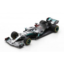 Mercedes F1 W11 EQ Performance 77 F1 Test Barcelona 2020 Valtteri Bottas Spark S6451