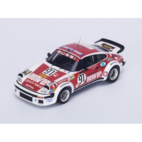 Porsche 934 91 24 Heures du Mans 1980 Spark S4421