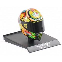 Casque Helmet AVG 1/10 Valentino Rossi Moto GP 2012 Minichamps 315120046
