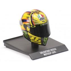 Casque Helmet AVG 1/10 Valentino Rossi Moto GP 2015 Minichamps 315150046