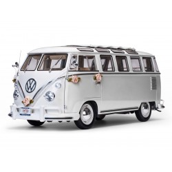 Volkswagen Samba Wedding version White 1962 Sunstar SS5085