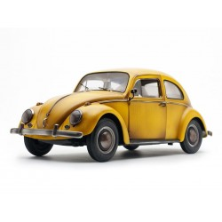 VW Beetle Saloon 1961 Yellow old effect Sunstar SUN5219