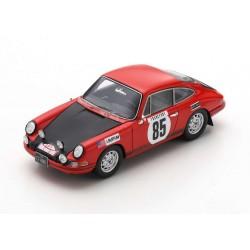 Porsche 911T 85 Rallye Monte Carlo 1969 John Buffum Stephen Behr Spark S6608