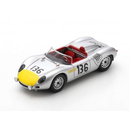 Porsche 718 RS61 136 Rallye Targa Florio 1961 Moss Hill Spark S4149