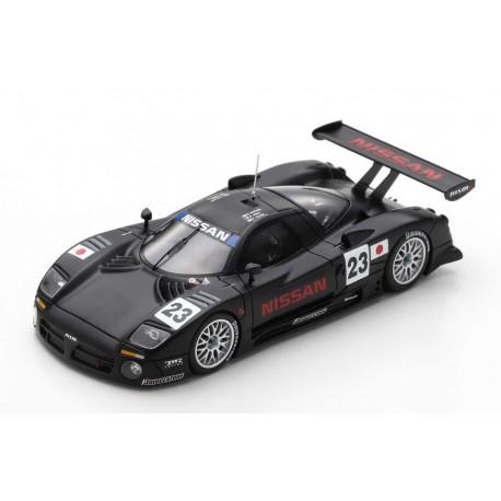 Nissan R390 GT1 23 Pre-Qualif 24 Heures du Mans 1997 Spark S3575