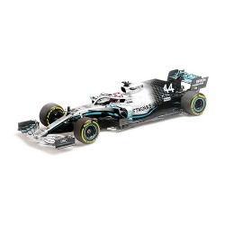 Mercedes F1 W10 EQ Power+ 44 F1 F1 World Champion 2019 USA Lewis Hamilton Minichamps 110191844