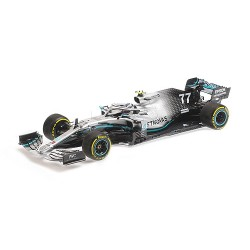 Mercedes F1 W10 EQ Power+ 77 F1 USA 2019 Valtteri Bottas Minichamps 110191877