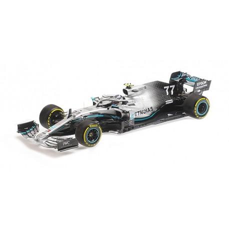 Mercedes F1 W10 EQ Power+ 77 F1 USA 2019 Valtteri Bottas Minichamps 110191877