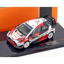 Toyota Yaris WRC 8 Rallye Monte Carlo 2019 Tanak Jarveoja IXO RAM722