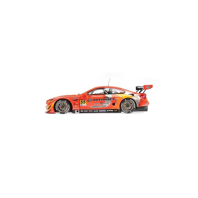 "Minichamps 155162655 # BMW M6 GT3 No.55 Super GT Series 2016 /"" AUTOBACS /"" 1:18"