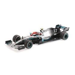 Mercedes F1 W10 EQ Power+ 77 F1 Hommage Lauda 3ème Monaco 2019 Valtteri Bottas Minichamps 110190677