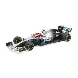 Mercedes F1 W10 EQ Power+ 44 F1 Hommage Lauda Winner Monaco 2019 Lewis Hamilton Minichamps 110190644