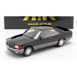 Mercedes 560 SEC C126 1985 Black KK Scale KKDC180334
