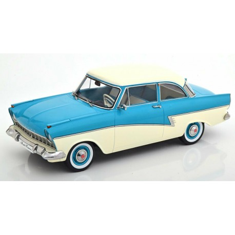 Ford Taunus 17M P2 1957 Turquoise White KK Scale KKDC180272