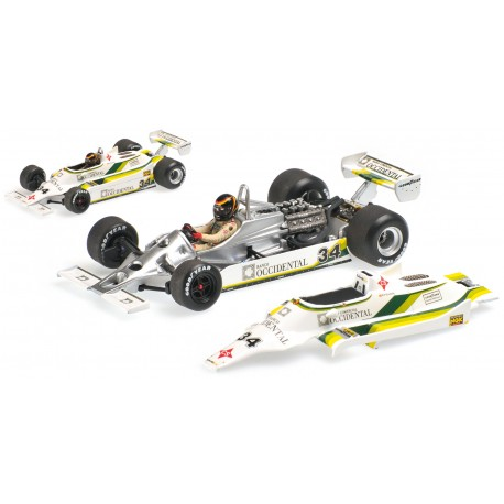 Williams Ford FW07 Espagne 1980 Emilio De Villota Minichamps 400800034