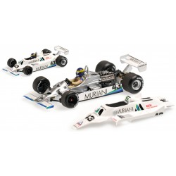 Williams Ford FW07 Angleterre 1980 Desiree Wilson Minichamps 400800043