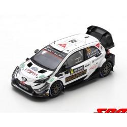 Toyota Yaris WRC 10 Rallye de Suède 2020 Latvala Hanninen Spark S6570
